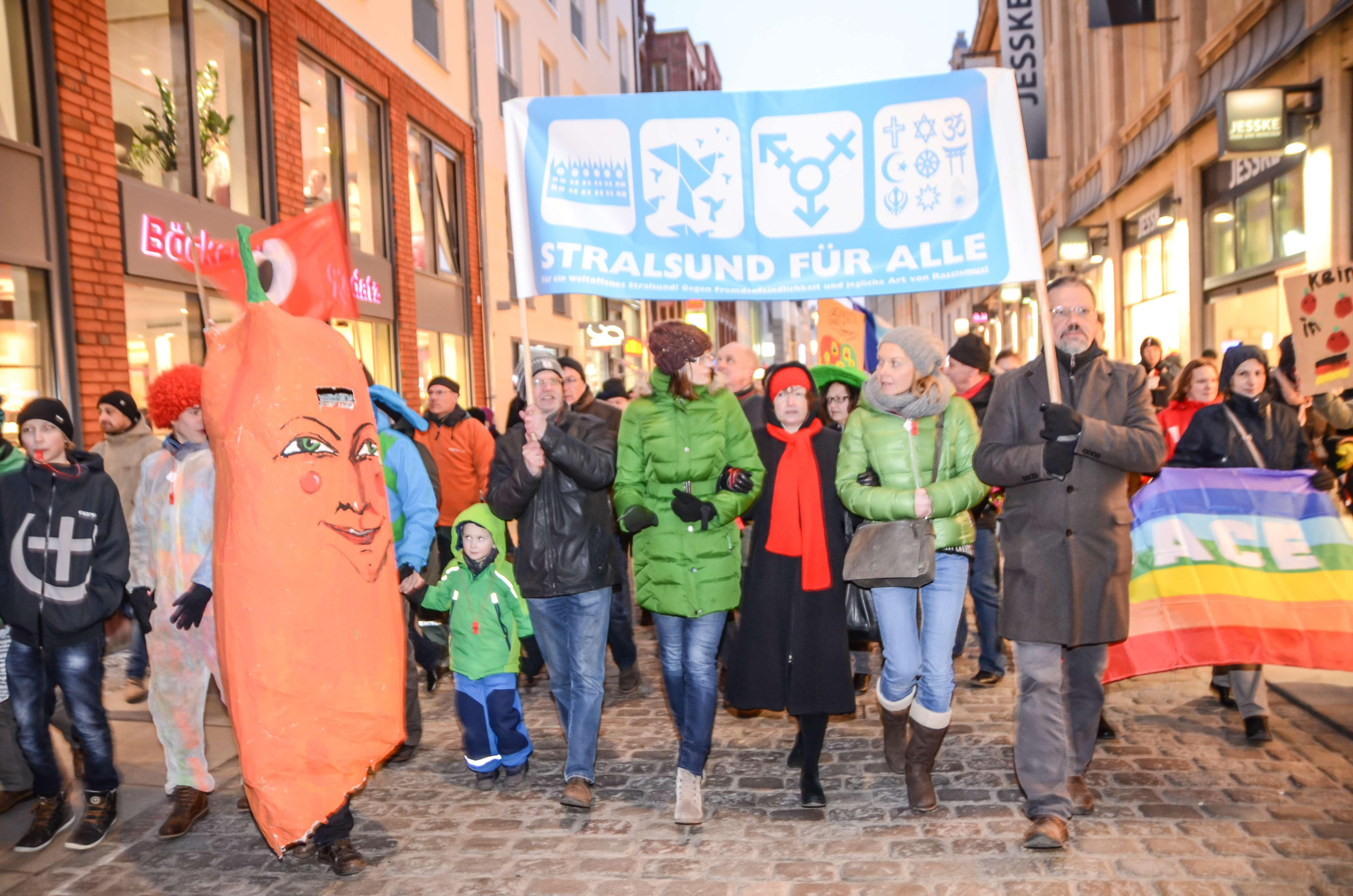 Stralsund – kreativ, bunt und weltoffen 16.02.15