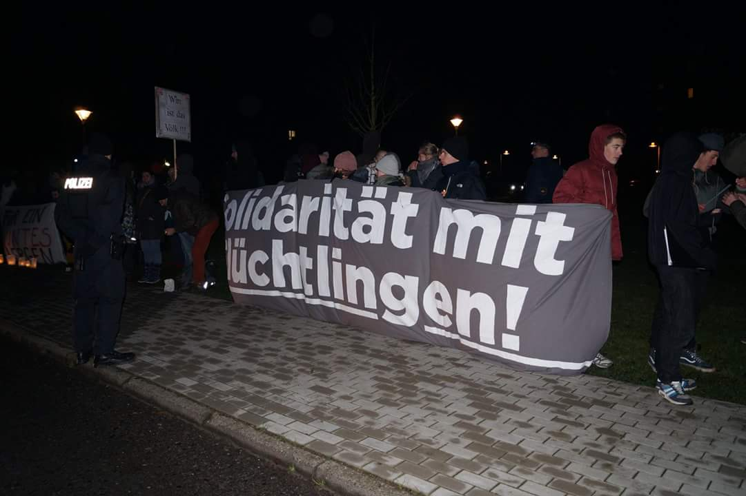 "Asylpaket 2 stoppen – Protestbrief an die ""große Politik"""
