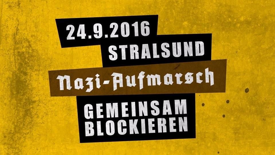 Nazis blockieren – am 24. September in Stralsund!