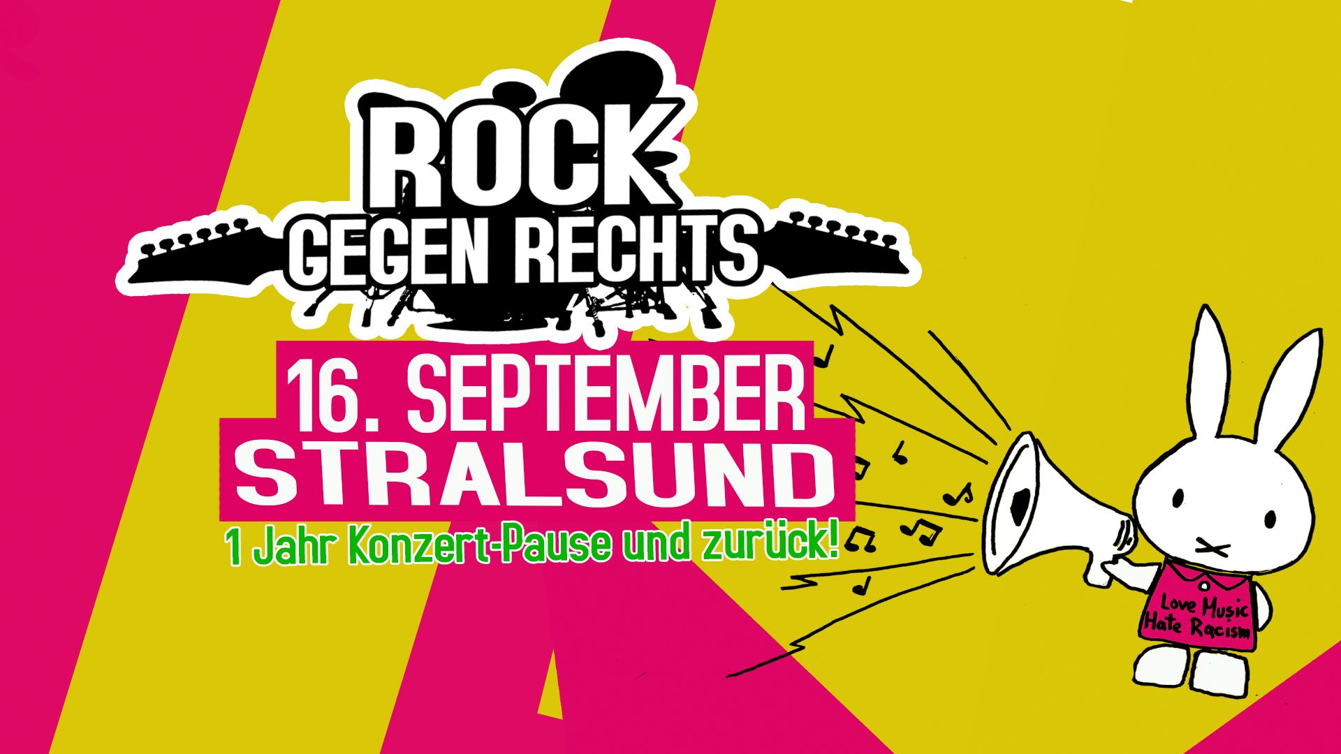 Stralsund 16. September: Rock gegen Rechts Konzert