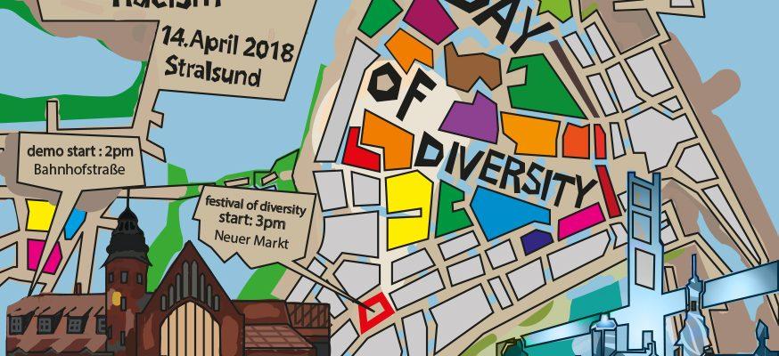 """day of diversity"" Stralsund – ""together against racism"""