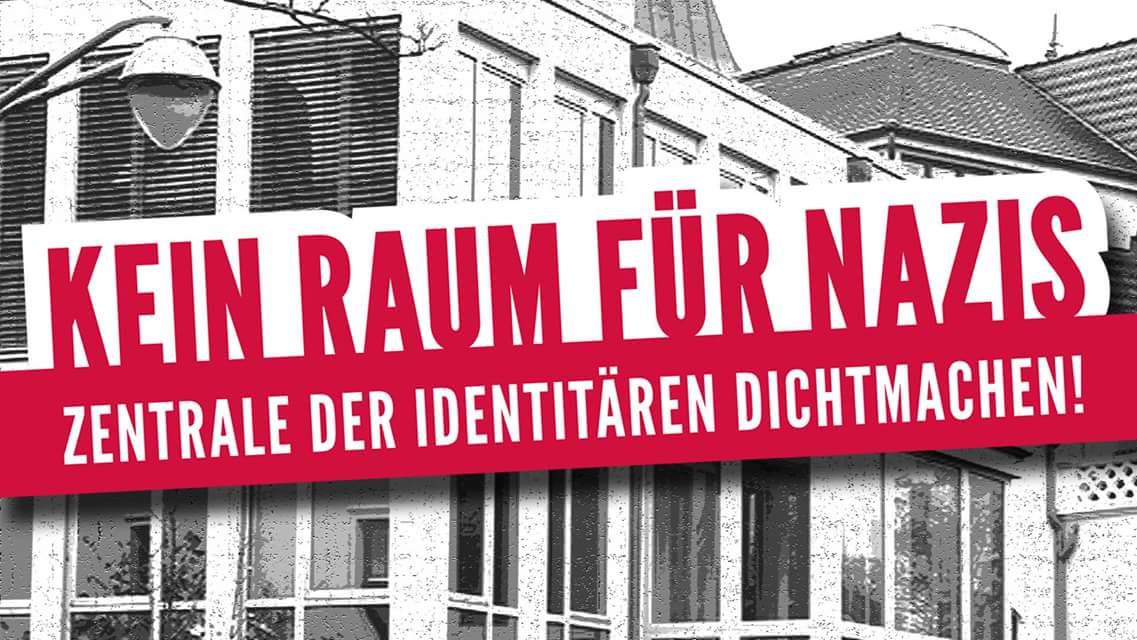 """Offener Brief: Gegen die Vermietung von Räumen an die """"Identitäre Bewegung"""" in Rostock"""