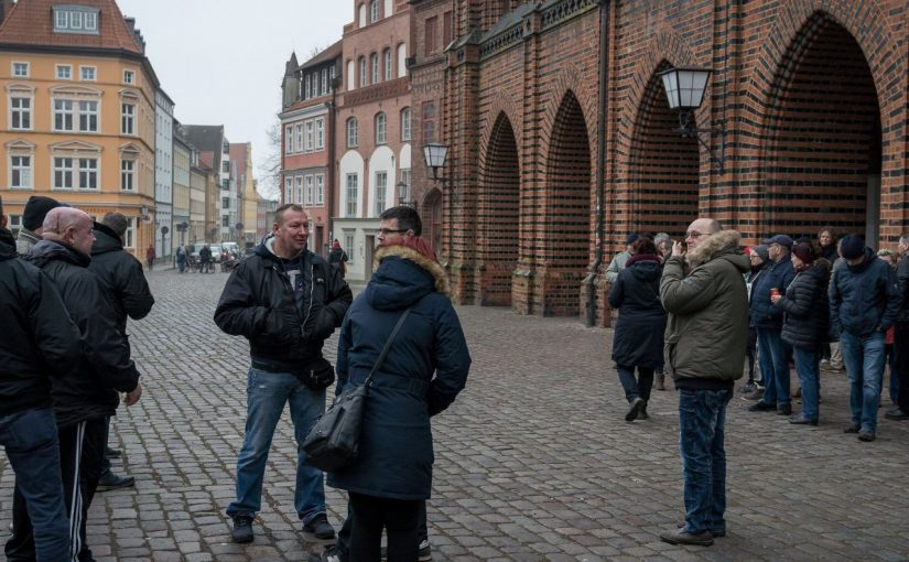 Beteiligung von AfD&NPD Aktivisten bei Fridays gegen Altersarmut in Stralsund
