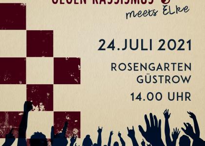 Rock gegen Rechts lädt am 24.07. nach Güstrow!